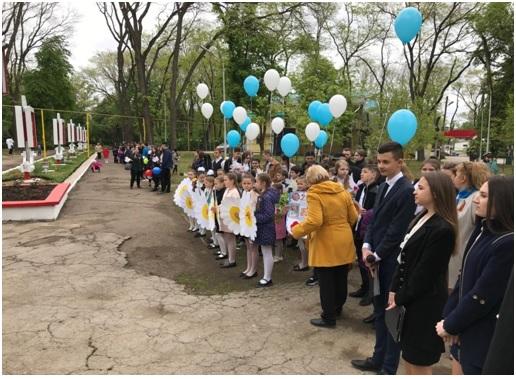 Mitingul festivcu depunere de flori din Parcul Victoriei al municipiului Bălți din 9 MAI 2019