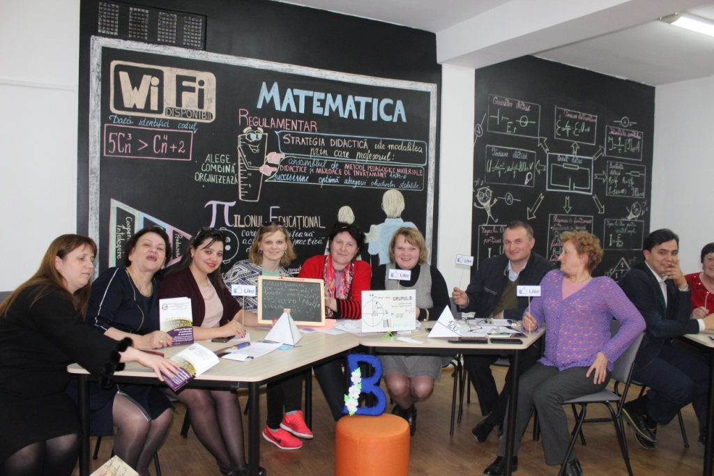 """Atelierul municipal al profesorilor de matematică cu tematica: """"Diseminarea bunelor practici în pregătirea elevilor pentru susținerea examenului de BACALAUREAT la Matematică"""""""