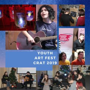 #ANTI YOUTH ART FEST 2019 la CRAT