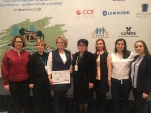 """a IV-a ediție a Conferinței naționale anuale privind educația incluzivă cu genericul: """"Dezvoltarea educației incluzive în Republica Moldova – rezultate actuale și priorități viitoare""""."""