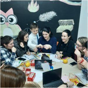 """LT ,,G. Coșbuc"""", pentru profesorii debutanți, a fost organizat un atelier metodico-practic municipal de excepție, cu genericul: ,,Cadrul didactic gestionează propria dezvoltare profesională continuă""""."""