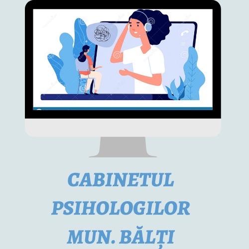 Serviciu online Cabinetul psihologilor, mun.Bălti!