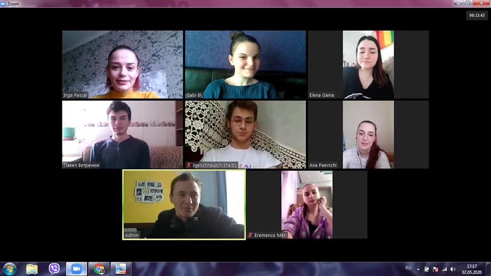 #Platformă de discuții tematice la Anticafeneaua virtuală #Metodă de educație nonformală