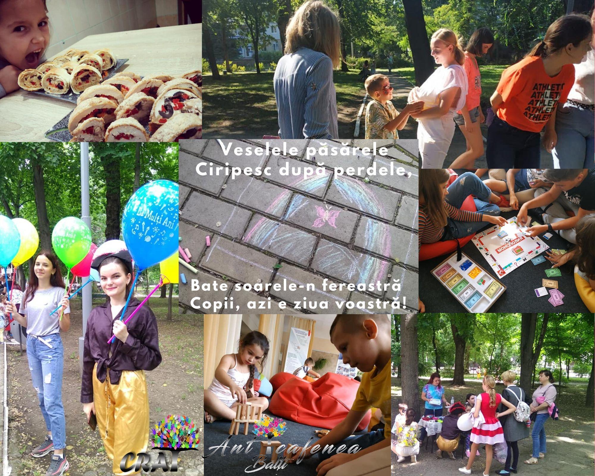 CRAT despre #Ziua internațională a copiilor!