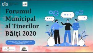""""""" Forum Municipal al Tinerilor Bălți 2020"""""""
