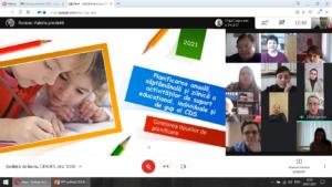 """Atelier metodic """"Individualizarea procesului educațional prin adaptări curriculare pentru copiii cu CES, în baza Reperelor Metodologice privind organizarea procesului educațional, în condițiile învățării mixte (online/offline/mixt)"""" , 29 ianuarie 2021"""
