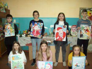 Конкурс рисунков, проведенный муниципальными молодёжно – подростковыми центрами «Чайка» и «Олимпиец» на тему: «Зима – магическое время года».