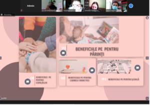 """Atelier de lucru pentru directorii adjuncți pentru educație și psihologii școlari: """"Stimularea comportamentelor pozitive ale copiilor prin dezvoltarea unui parteneriat durabil cu familia"""""""