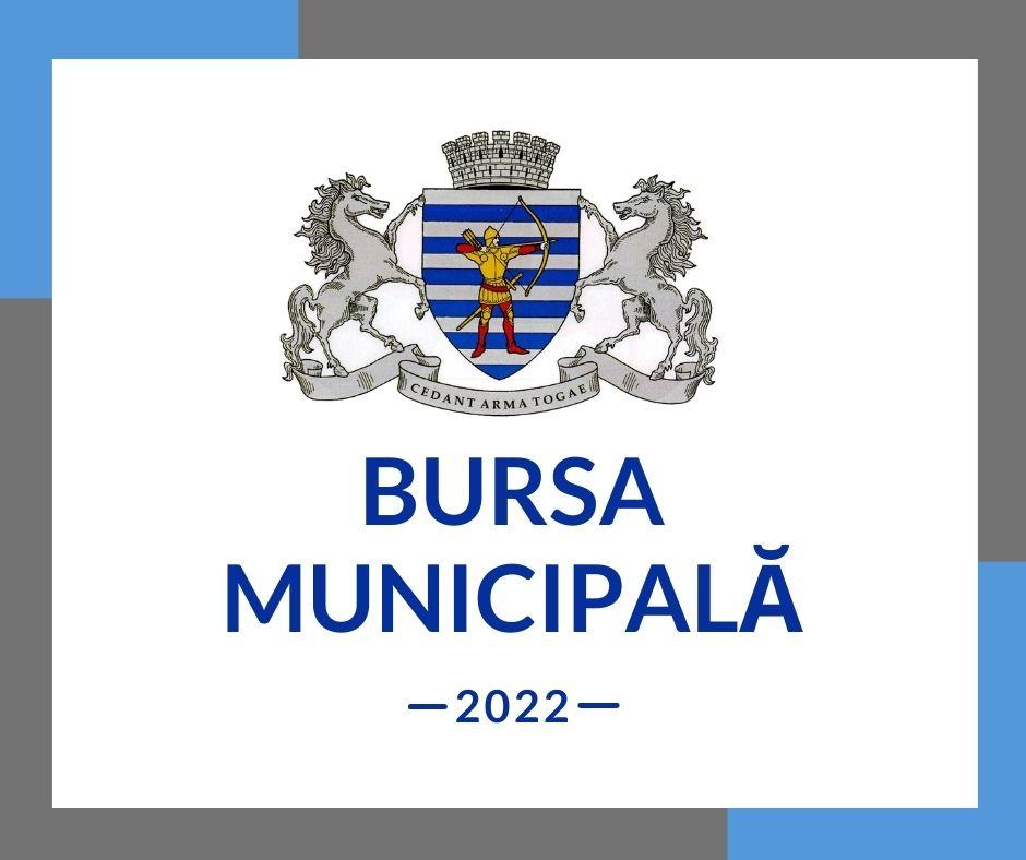 """Concurs """"Bursa municipală - 2022"""""""